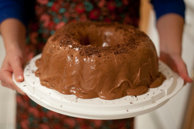 Rich Chocolate Cake with Milk Chocolate Icing Recipe
