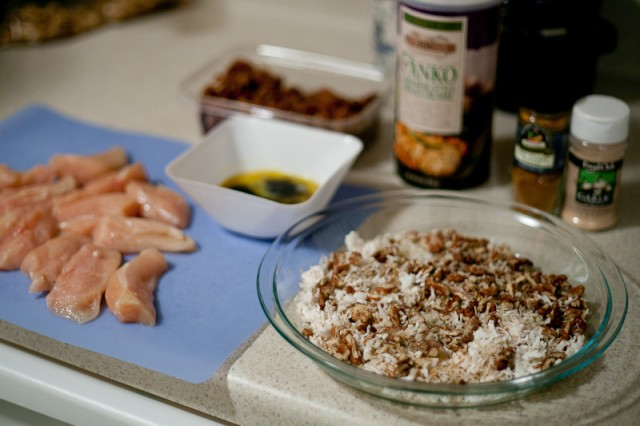 Coconut Pecan Chicken Tenders Recipe