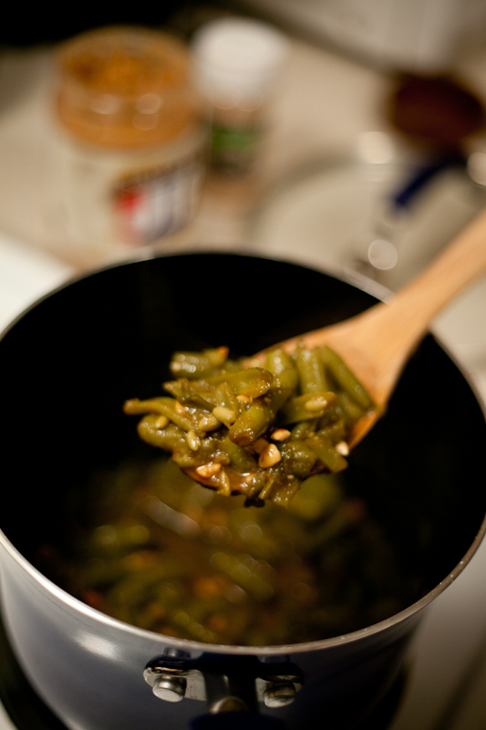 Shortcut Asian Green Beans