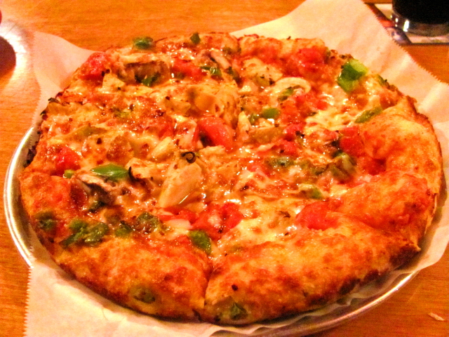 The Old Orchard pizza at Portland Pie Company