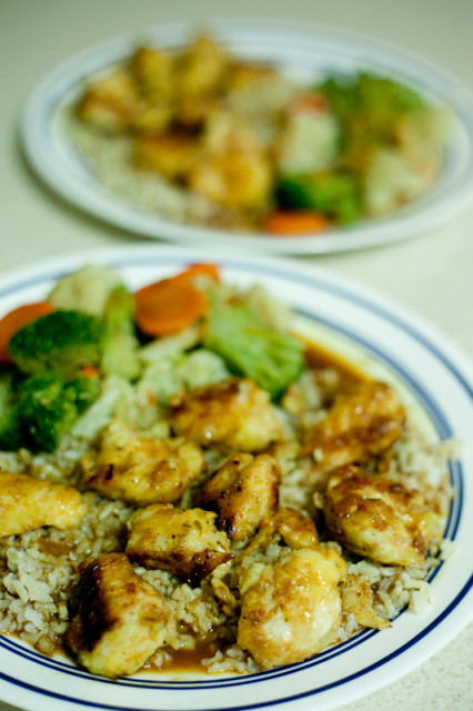 Crunchy Orange Chicken Recipe