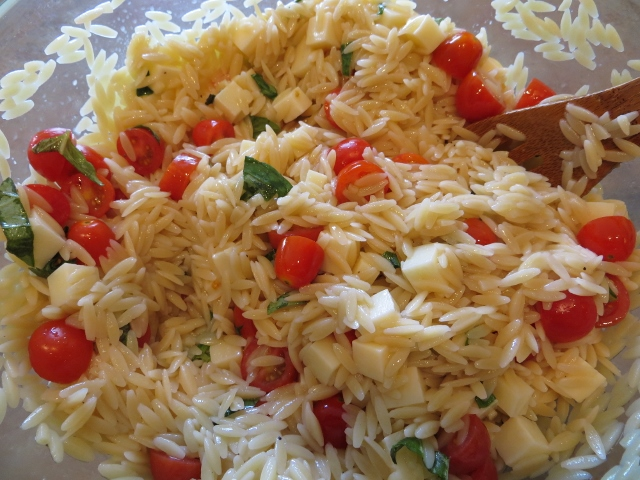 Summer Orzo Pasta Salad Recipe