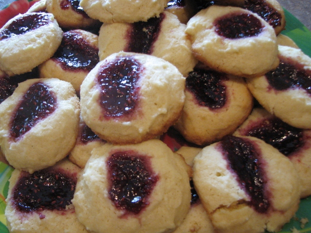 Lemon Raspberry Thumbprint Cookies Recipe