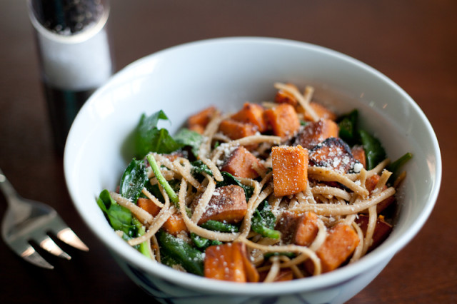 Balsamic Sweet Potato Pasta Recipe