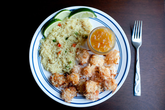 Baked Coconut Shrimp with Orange Marmalade Sauce Recipe