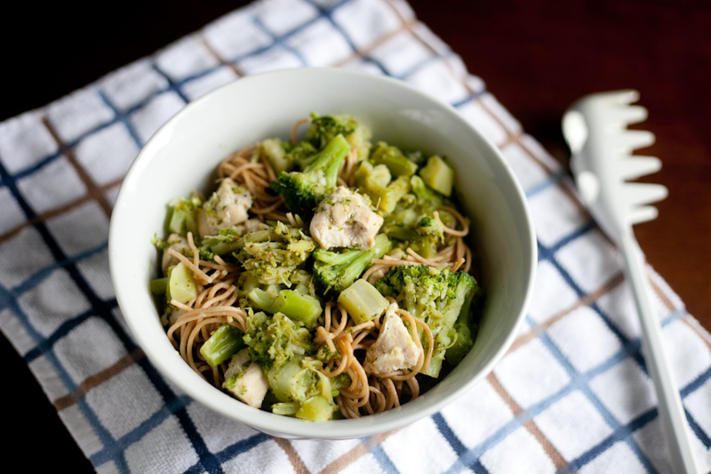 Chicken and Broccoli Spaghetti