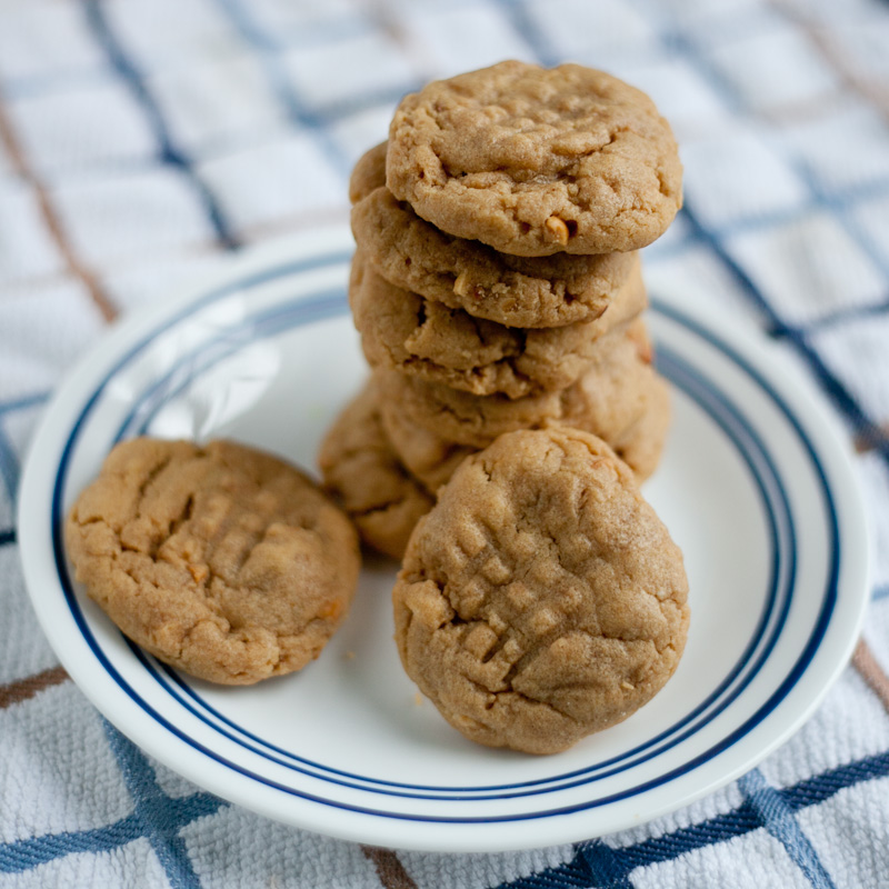 Flourless Gluten Free Peanut Butter Cookie Recipe